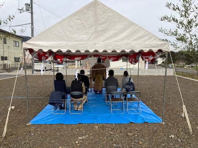 東近江市 M様邸 地鎮祭執り行いました