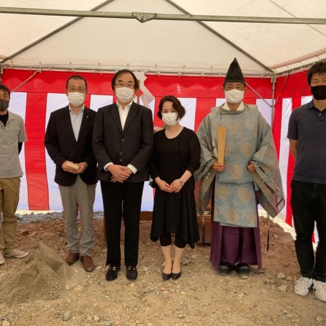 京都市 T様邸 地鎮祭を執り行いました