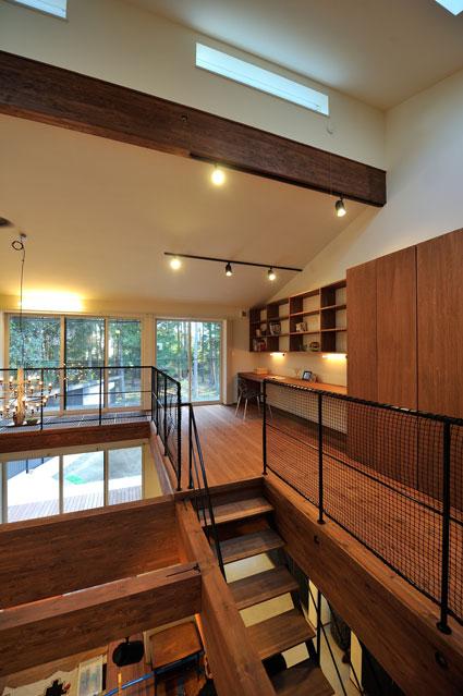 多目的の階段ホール