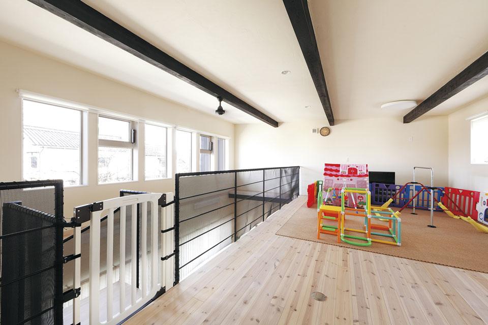 2階のオープンスペース