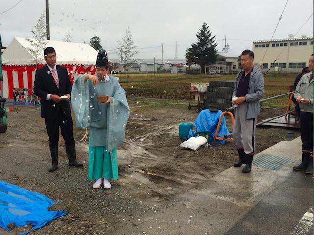 20151127 北川 地鎮祭3