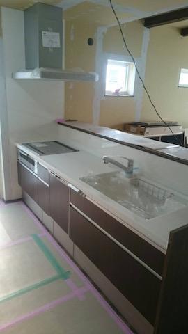 キッチン施工 2-26