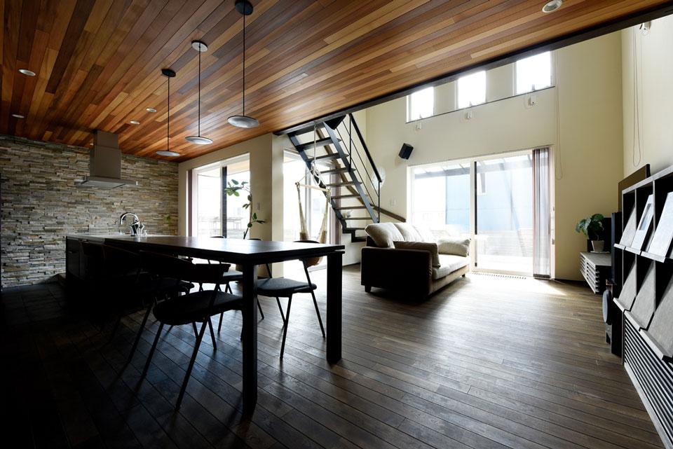 温熱環境と省エネを考え抜いた快適仕様の家 リビング