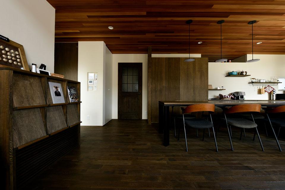 温熱環境と省エネを考え抜いた快適仕様の家 造作家具