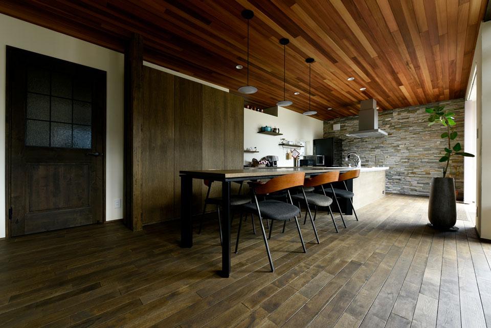 温熱環境と省エネを考え抜いた快適仕様の家 ダイニングキッチン