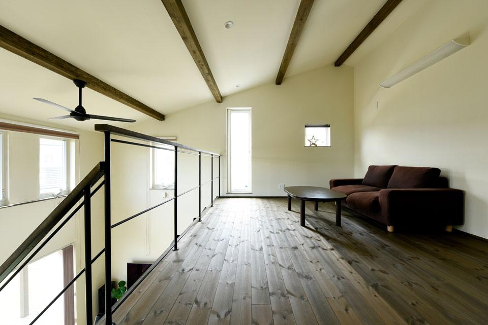 温熱環境と省エネを考え抜いた快適仕様の家 2階